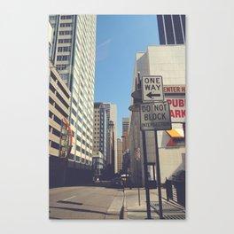 Akard Street Canvas Print