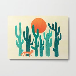 Desert fox Metal Print