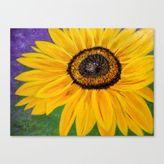 Color of the sun Canvas Print