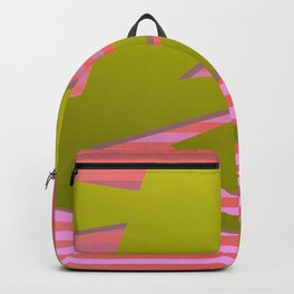 Great triangelium colored  2 Backpack