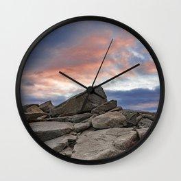 Granite Sunset Wall Clock