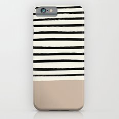 Latte & Stripes Slim Case iPhone 6s