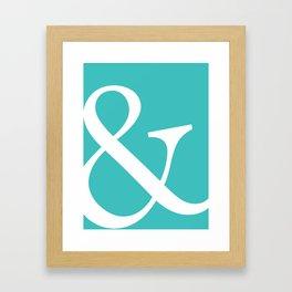Ampersand Art Print Framed Art Print