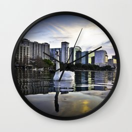 Lake Eola - Orlando, FL Wall Clock