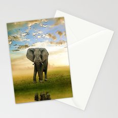 Run to water Stationery Cards