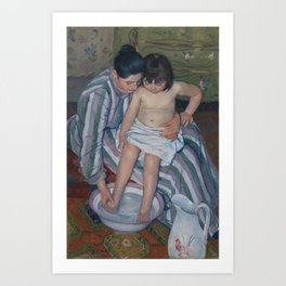 Mary Cassatt - The Child's Bath Art Print
