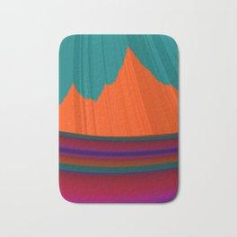 Paint Me a Mountain Bath Mat