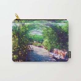 Rosy Bower Carry-All Pouch