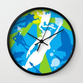 James Bond Golden Era Series :: Thunderball Wall Clock