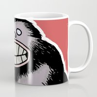 bigfoot Mugs featuring Bigfoot by FireAwayMarmot