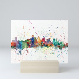 BostonSkyline Mini Art Print