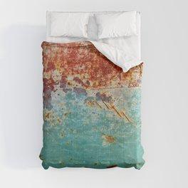 Teal Rust Comforters