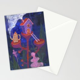 Little cabin Stationery Cards