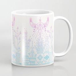 Santa Fe Garden – Rose Quartz & Serenity Coffee Mug