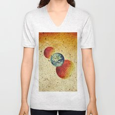 Take me to the moons and back Unisex V-Neck