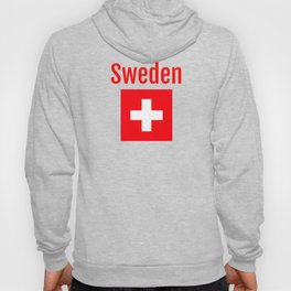 Sweden - Swiss Flag Hoody