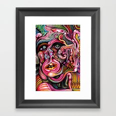 Inner Squirmoil Framed Art Print