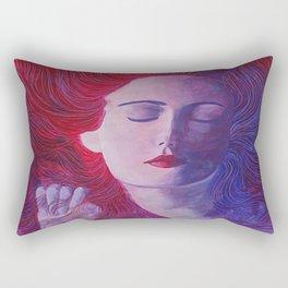 la suave musica del rio Rectangular Pillow