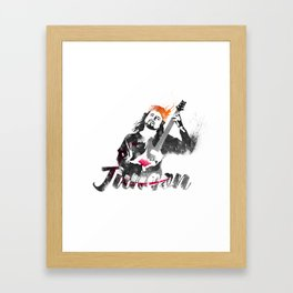 Junoon Framed Art Print
