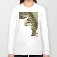 daenerys Long Sleeve T-shirts featuring The Serpent Mother by Luis Uzcategui
