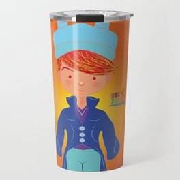 Le petit Mikel /Character & Art Toy design for fun Travel Mug