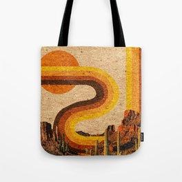 DESERT RAINBOW Tote Bag