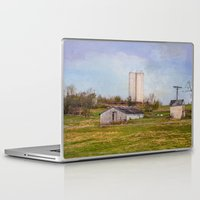 tennessee Laptop & iPad Skins featuring Tennessee Country Farm by Mary Timman