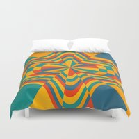 trippy Duvet Covers featuring Trippy by Ashley