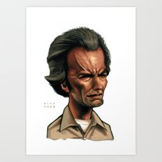 Clint Eastwood as Philo Beddoe Art Print
