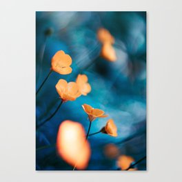 Breezy Buttercups Canvas Print