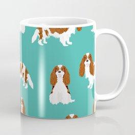 Cavalier King Charles Spaniel blenheim coat dog breed spaniels pet lover gifts Coffee Mug