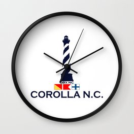Corolla - North Carolina. Wall Clock