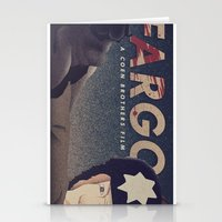 fargo Stationery Cards featuring Fargo by Perry Misloski
