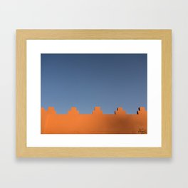 Marrakech Sky Framed Art Print