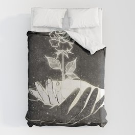 Growing creations. Comforters