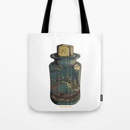 Tiny World III Tote Bag