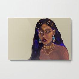 Ancient Queen Metal Print