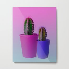 THE BOTANICAL CACTUS SHOW Metal Print