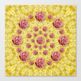 roses and fantasy roses Canvas Print