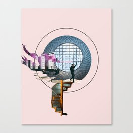 Urban Explorer Canvas Print