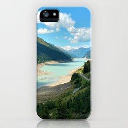 Gepatsch Reservoir Kaunertal Glacier Austria Alps Landscape iPhone Case