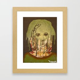 Dready Framed Art Print