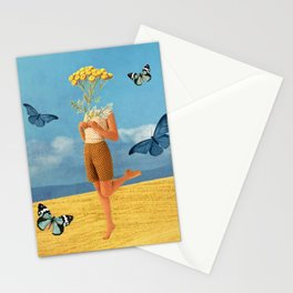 Summer print Stationery Cards