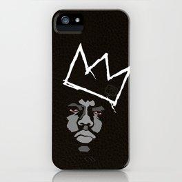 Biggie Basquiat iPhone Case