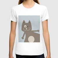 my mad fat diary T-shirts featuring Fat Cat by nellifant