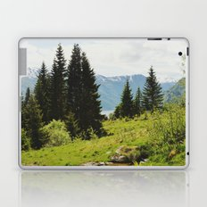 the forest and the fjords Laptop & iPad Skin