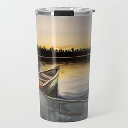 Three Creeks Sunset Travel Mug
