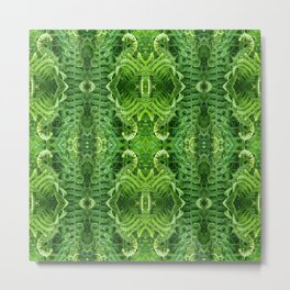 Pattern 45 - Fern Beauty Metal Print