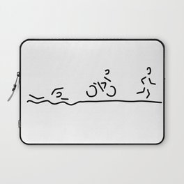 triathlon triathlet Laptop Sleeve