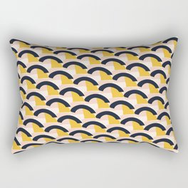 "geometric bows - perfect to combine with ""more design for happy life"" Rectangular Pillow"